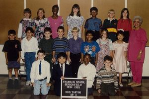 Highlight for album: Franklin school - Mrs. Rose Tartini 3rd & 4th Grade
