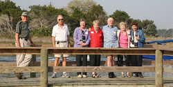 27-Les G., Bill, Alice's husband, Deb, wife of Les, Muriel K,  Bill N., Barbara L. & Joan, wife of Al