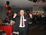 tony defeo leading the chicken dance