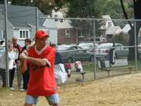 Danny Telesca at bat