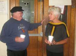 Rev. Dave Knudson and Betty Schmitt Busch