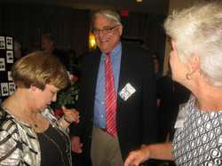 Sue Coyle Goebel and Larry Goebel, Betty Schmitt Busch