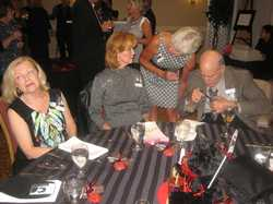 Arlene Terry, Dotty Santhouse Levinson, Betty Schmitt Busch, Gerry Levinson