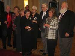 The Reunion Committee:  Donald Commerford, Mary Weisse Lippmann, Linda Gordon Christense, Lois DeGenaro, Karen Pierce Breny, Rich Vereb, Barbara Brando Dunn, Artie Mortensen   IMG_0182.JPG