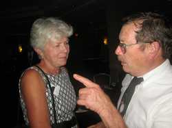 Betty Schmitt Busch, Greg Curtin