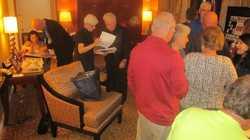 Esmerelda & Eric Schleiffer, Karen Pierce Breny, Donald Commerford, Jim Hoberg, Gail Mortensen, Mary Weisse Lippmann & Charlie Lippmann  IMG_7692.JPG