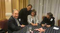 Robert Rostolder, Maitre'd, Barbara Brando Dunn, Lois DeGenaro IMG_7762.JPG