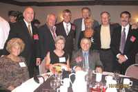 Back Row:  Paul Hassler, Niel Dieterele, Bob Butkus, Cliff Culuko, Norma Culuko, Bill Shaw, Joe LeCount Sitting:  Shirley Hassler, Donna Dieterele (BHS '67), George Gesualdo