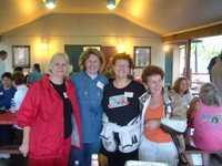 Linda Roussel, Jeanne Vion, April Werner, Diane Delaney