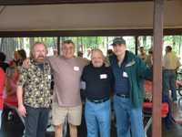 Lou Nahhas ('64), Jeff Savlov, Joe Carrriero, Richard Ramos