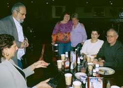 Linda Esposito, Bill Goldberg,Bev Muller