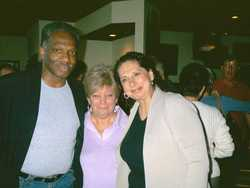 Ellen Edwards, Linda Esposito and friend
