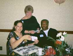 Linda Esposito and friend Ellen Edwards