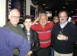 Oran Digman and wife Joe Bonilla, Dave Potter