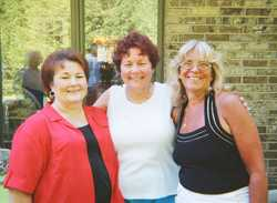 Nancy McEllen, Janis England, Beth Kukkonen