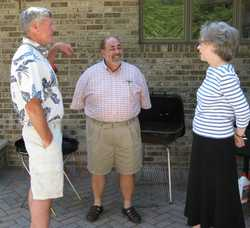John Zeigler, Joe DiMaggio, Linda Gillen