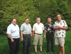 Pat, Bob, Brian, John, Sammy