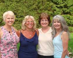Bev, Beth, Barbara, Janet