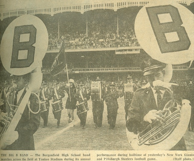 Band - Giant's half-time show