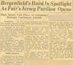 Article-Band at World's Fair
