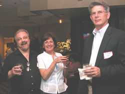 Ray Johnston, Barbara Terzano, Bill Kopp