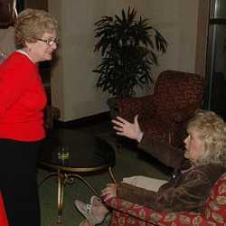 DSC 0005 Donna Dieterle Causey '67, Janet Berger '67