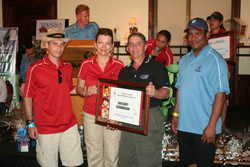 Greg Germakian helped raise 175,000 dollars at the Ronald McDonald Golf Classic