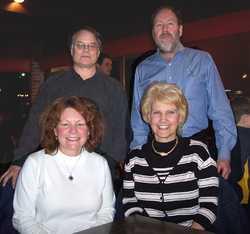 Jack Brondum, Bill Bragg, Janis England, Bev Stohl