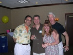 Larry Gruber, Mark & Patty Damia, Dan Foley