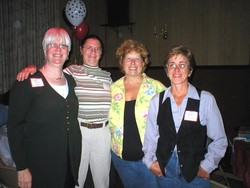 Linda, Sue, Janet and Darleen