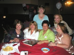 Sue, Dorothy, Donna, Julie, Lori and Eileen