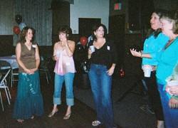 ?, Joanne Florio Zucconi, Laura Buese Impriale, Patti Dunn Scala, Janice Laufeld Marsiglio