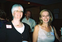 Linda Putney Doherty and Eileen Kopkins Fenner