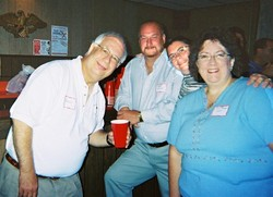 Neal Schiff (Linda Havenstreit's husband), Rodger Collins, Janet Messner collins, Donna Ridings Furaro