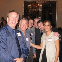 Rob Spadaccini,,  Roy Spadaccini, Tony Francica, Billy Walsh, Phil Fischer and Louise DePalma Knight