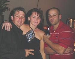 George & Angela Malizia & Tom McElroy