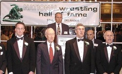 Highlight for album: Coach Sal Cascio's Induction to Hall of Fame