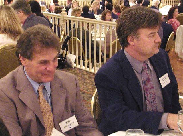 Ed Kochajki and Rick Gillies
