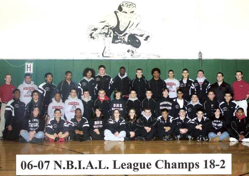 wrestling BHS 2007 Click on photo to see names!