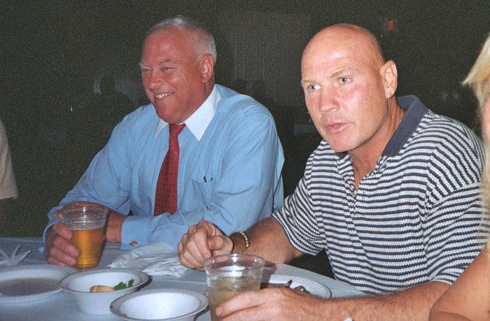 John O'Dowd'74 & Dan McDonnel'74