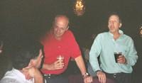 Frank Maugeri'73, Dave Pappicco'71, Bob Nardi'71