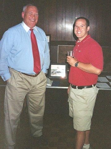 John O'Dowd'74, Coach Kevin Manning'95