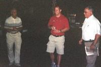 Coach Sal Cascio, Coach Kevin Manning'95, Coach Alex Turnamian
